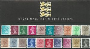 1983 Pack 1 Machin (Definitive Stamp Presentation Packs)